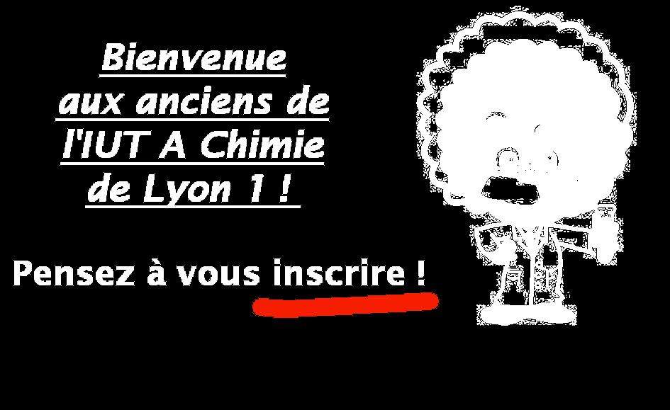 Anciens élèves IUT A Chimie de Lyon 1